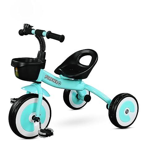 Amazon.com: Tricycle Kids - Pedal de 3 ruedas para niños de ...