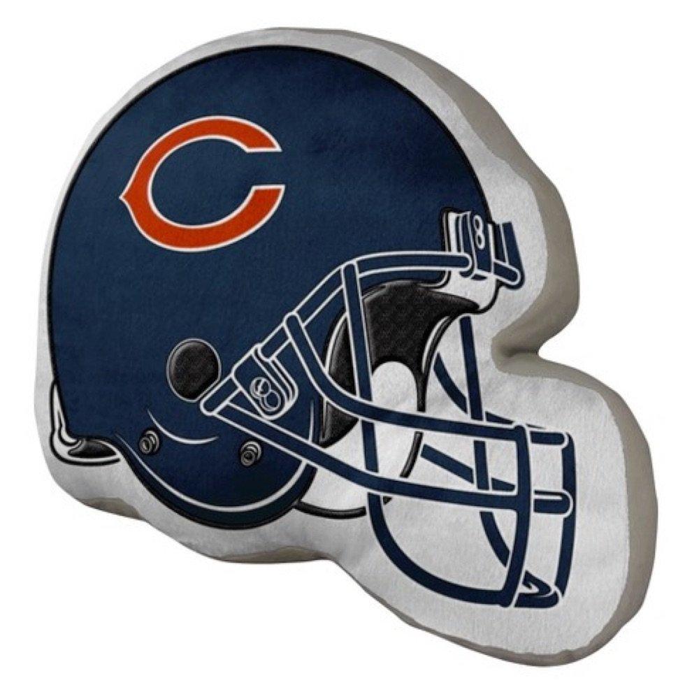 NFL Chicago Bears Helmet Shaped Decorative Pillow