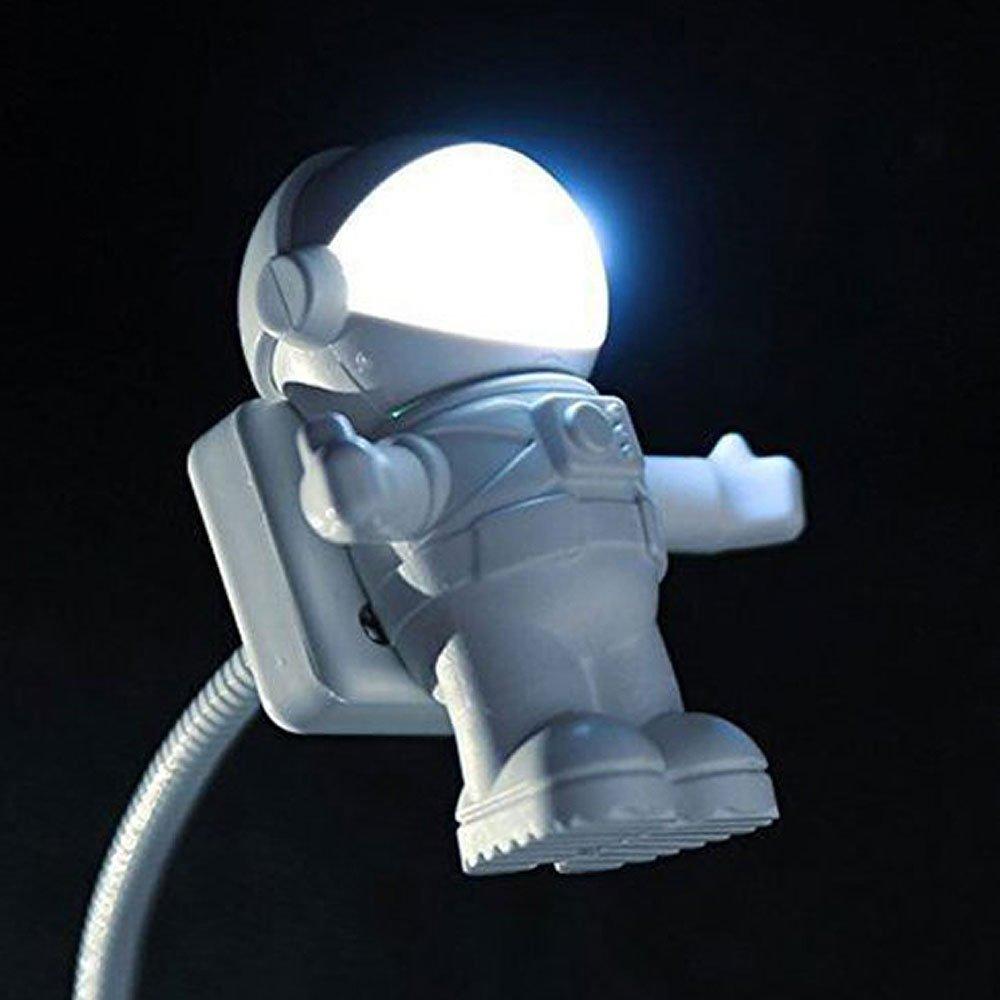 Kasstino Creative Energy Saving Astronaut Spaceman USB LED Adjustable Night Light Laptop KS0089