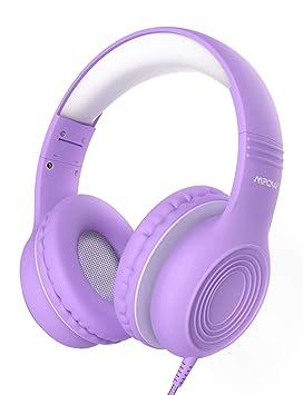 Mpow CH6 Auriculares para niños, Volumen Limitado en el oído ...