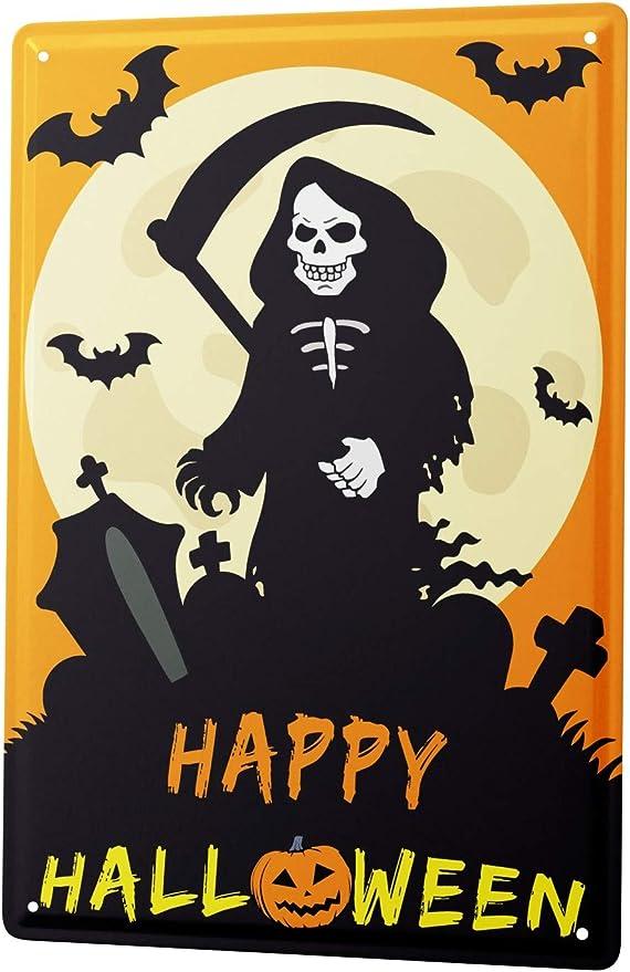 Great for DIY Halloween Gift Cartoon Grim Reaper Vinyl Decal Sticker