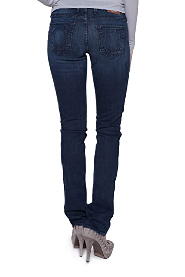 bb282994a63a True Religion Damen Jeans Boot Cut Trisha Slim Boot Cut Wash CH ...