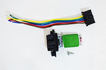 95508692 13248240 heater resistor wiring loom connector rh amazon co uk Ignition Wire Looms Auto Wire Loom