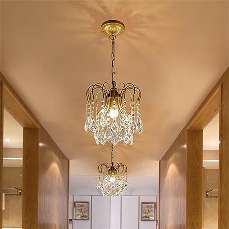 lilamins entrada americano ajustada lámparas pasillo de ...