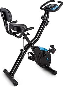 Capital Sports Azura 2 Bicicleta estática Plegable (3 kg de Masa ...