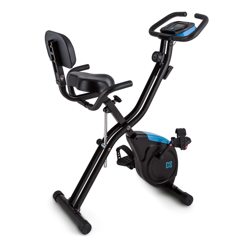 Capital Sports Azura 2 bicicleta estática plegable (3 kg de masa oscilante, sillín extra