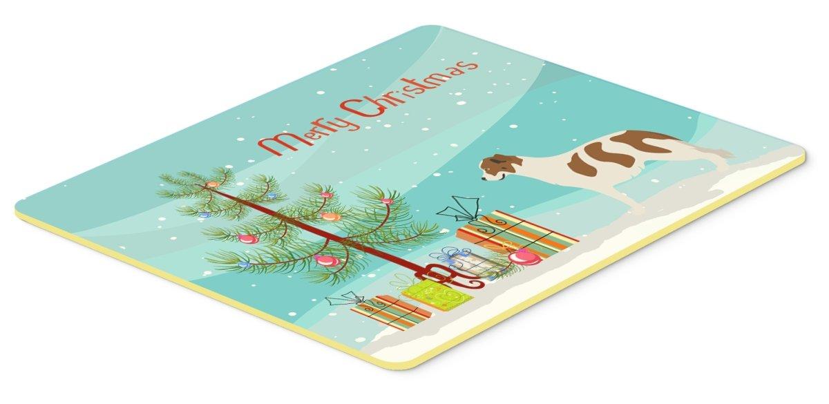 Caroline 's Treasures bb8496jcmt Aidi Atlas Mountain犬クリスマスキッチンマット、24hx36 W、マルチカラー   B074FPYS5V