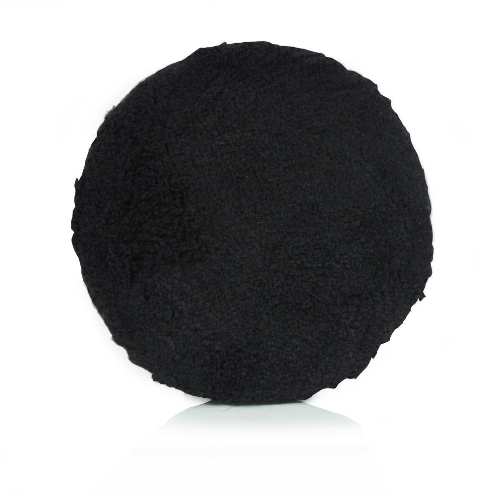 Chemical Guys BUFX_303_5 5 Inches Black Microfiber Polishing Pad