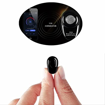 whx Mini auricular auricular Bluetooth inalámbrico, auriculares inalámbricos Bluetooth 4.1 con micrófono invisible Applies to