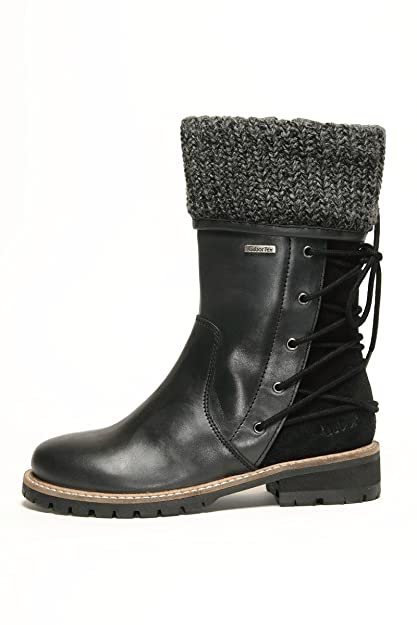 picked up fast delivery fashion Gabor Kids Mima Boots Schuhe Stiefel Leder 372 71 Waterproof ...