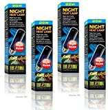Exo Terra Night-Glo Moonlight Lamp, 25-Watt (4 Pack)