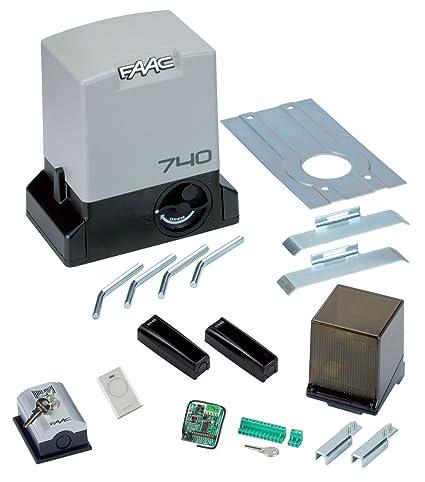 Schema Elettrico Per Automazione Cancello : Faac delta kit v safe automazione cancelli scorrevoli kg