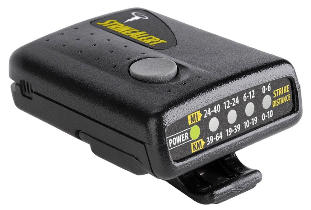 Strike Alert Personal Lightning Detector Black