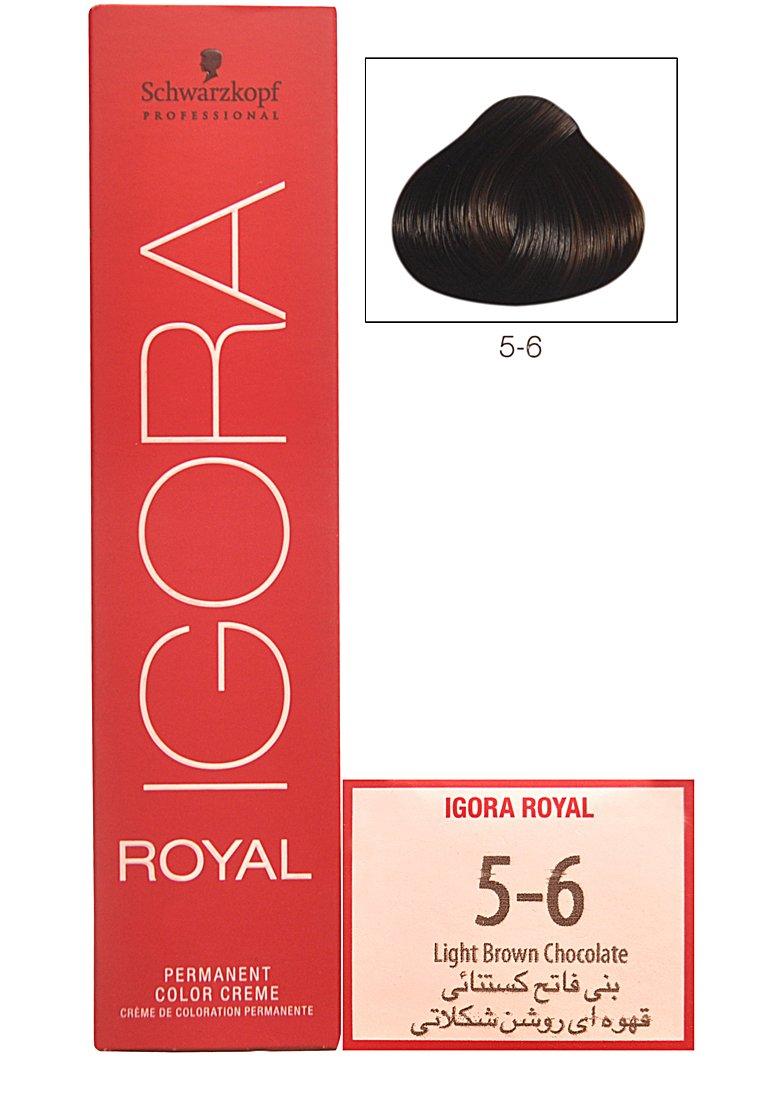 Buy Schwarzkopf Igora Royal Hair Color Creme 5 6 Light Brown
