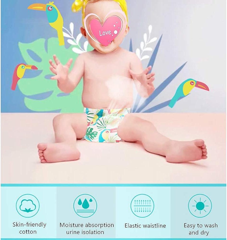 Morbuy Baby Lernwindel Trainerhosen Unterw/äsche Windeln Windelhose zum Toilettentraining T/öpfchentraining f/ür Baby Kleinkind T/öpfchen Klingelhose Trainer Windelhosen