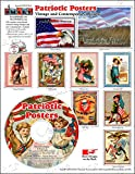ScrapSMART - Patriotic Posters Software Collection: Vintage and Contemporary Designs - Jpeg & PDF Files (CDPATP147)