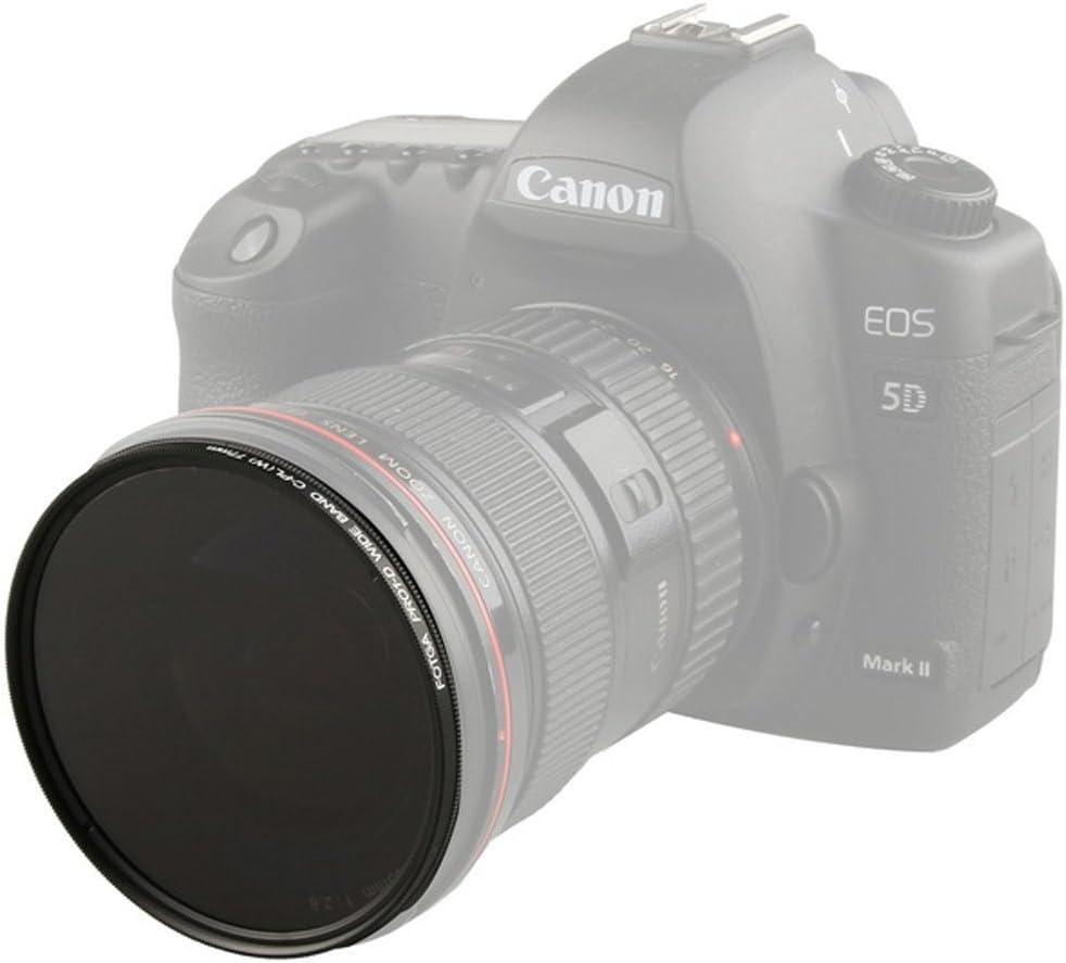 Fotga 37mm Ultra Slim CPL Circular Polarizing Glass Filter for Canon Nikon Sony Pentax Olympus Panasonic Fujifilm Leica Ricoh Samsung Dslr Cameras Lenses