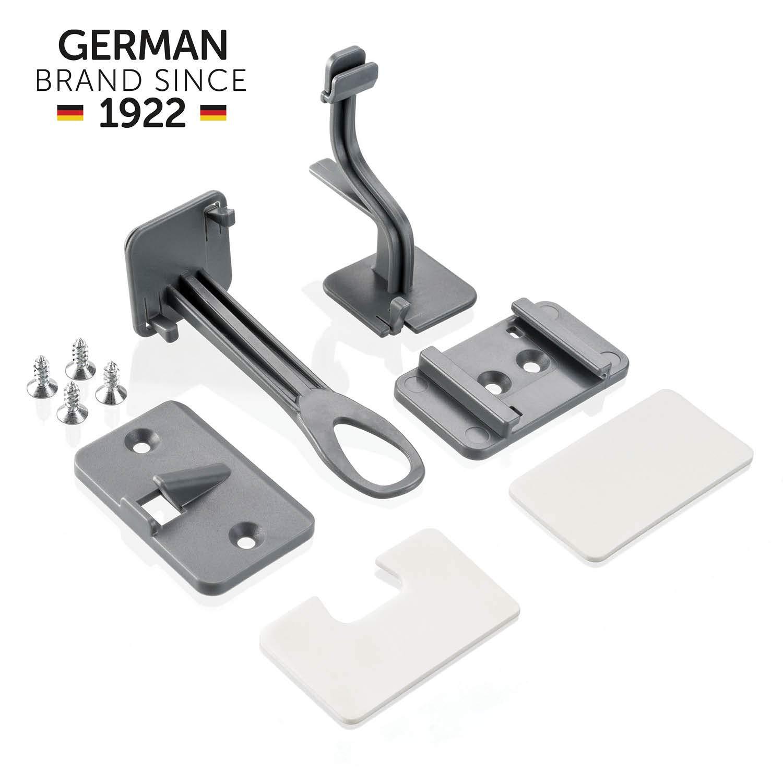 2 x Reer Schubladensicherung /& Schranktürsicherung DesignLine 71017