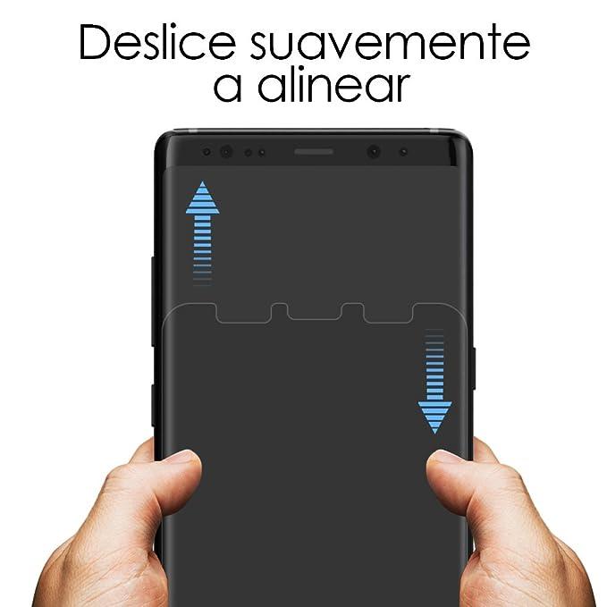 G-Color Galaxy Note 8 Protector de Pantalla, [2 Piezas], [Alta Definición y Sensibilidad] [Cobertura Perfecta] [Sin Burbujas] [Anti-arañazos] TPU, ...