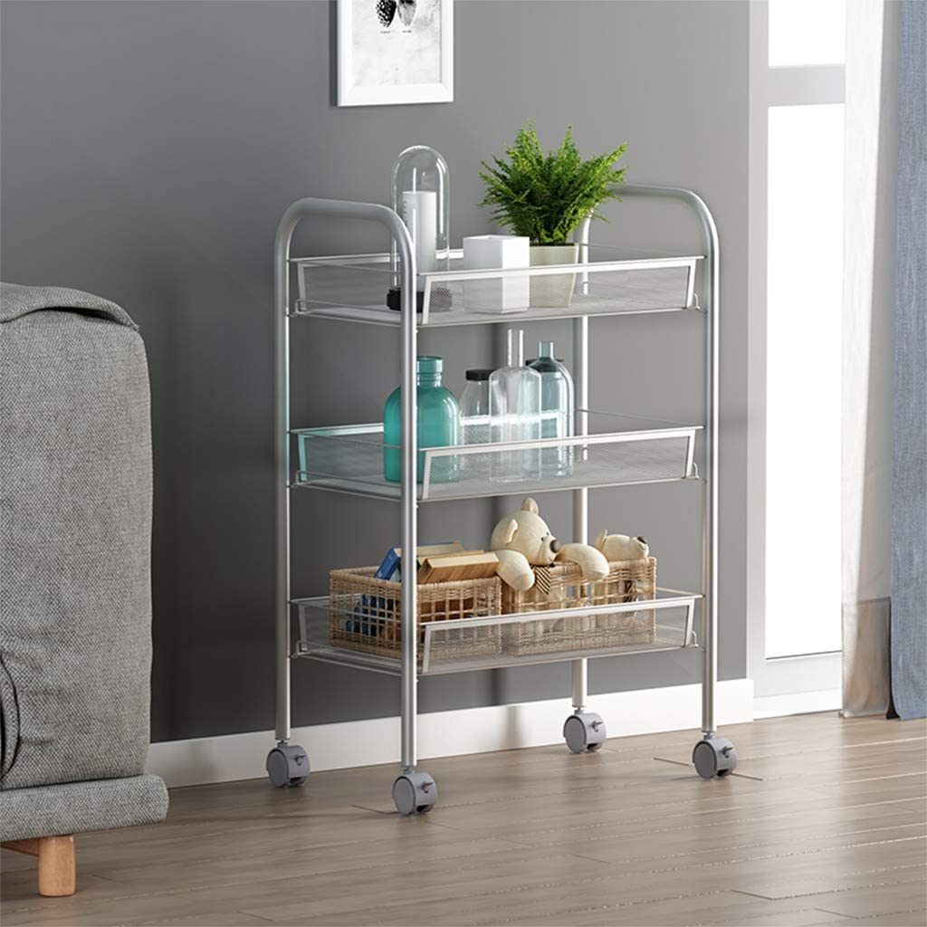 Free Amazon Promo Code 2020 for 3-Tier Mesh Wire Rolling Cart