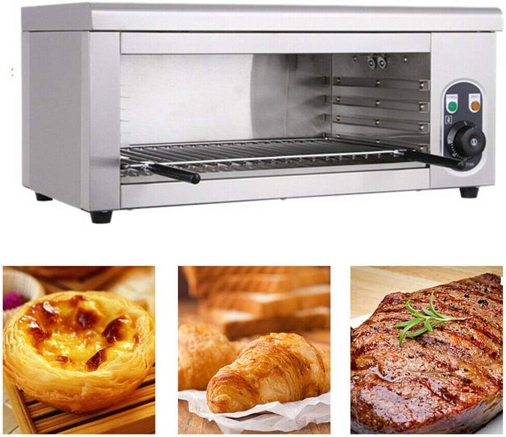 Oven Toaster 110V Electric Cheese Melter Cheesemelter Broiler for Restaurant Kitchen Equipment Countertop