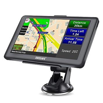 awesafe GPS Navi 7 Pulgadas Pantalla táctil de navegación de ...