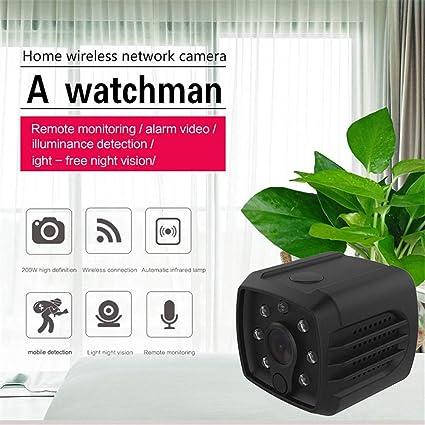 Mini Cámara Espía Oculta, Cámaras De Vigilancia De Seguridad Para El Hogar Más Pequeñas HD