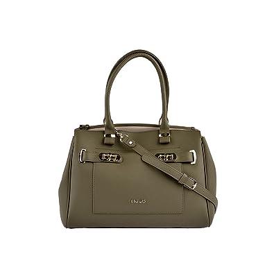 Handtasche Ninfea Tasche Damen Khaki Grün Liu Jo HuwQ9202m