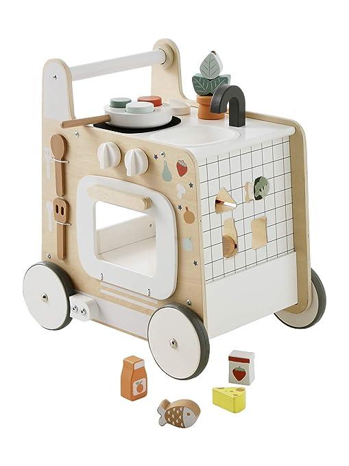 Lauflernwagen Küche - Vertbaudet 3in1 Lauflernwagen mit Spielküche