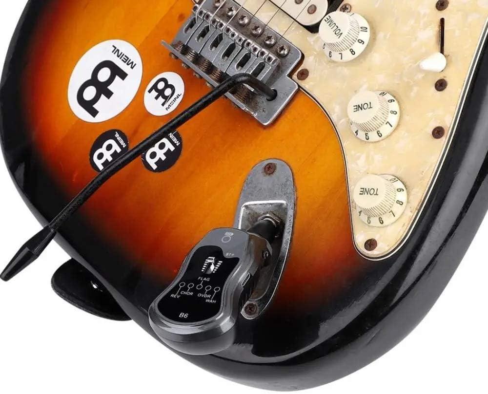 B6 Gitarre Effekt Tragbar 5 IN 1 Rev-Vhor-Flag-Ovdr-Wah Bluetooth Effekt