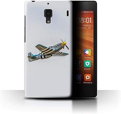 eSwish - Carcasa para teléfono móvil (Compatible con Modelos Historic Aircraft) P-51 Mustang North American Xiaomi Redmi 1S: Amazon.es: Informática