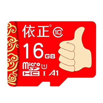 LQNCK Tarjeta TF Tarjeta de Memoria de 16 GB Grabadora de ...
