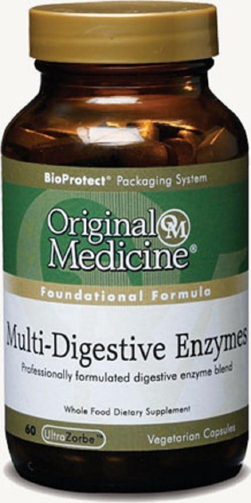 Original Medicine Multi Digestive-Enzymes 60 CAPS