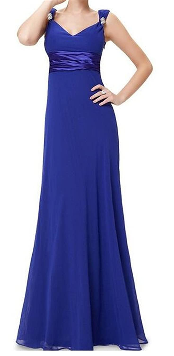 SimpleDressUK Sexy Double V-neck Diamantes Party Evening Dresses