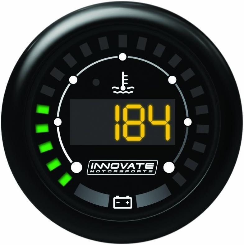Innovate Motorsports 3853 MTX Digital Series Dual Function Water Temperature and Battery Voltage Gauge Kit