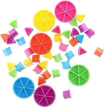 MagiDeal 42 Pieza Paquete de Búsqueda Trivial Pedazos de Pastel ...
