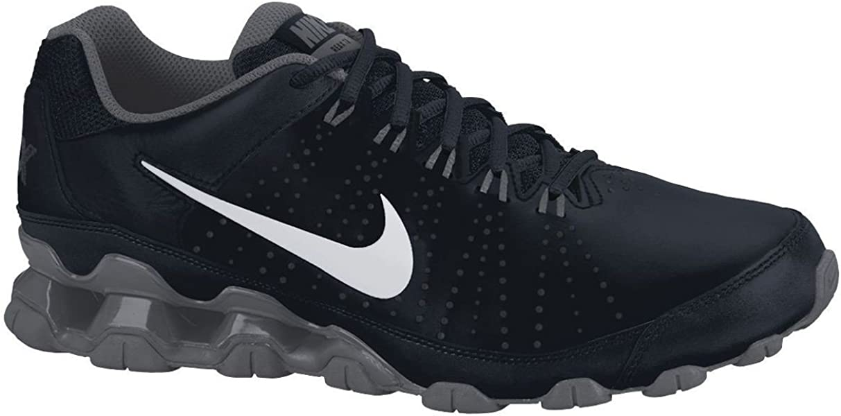 Nike Reax 9 TR Trainer Running Shoes Black White 5f5288244