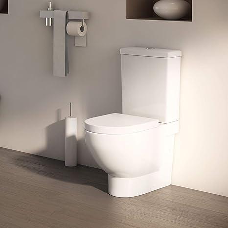 Inodoro con cisterna Marsella Salida dual Entrada de agua por ...