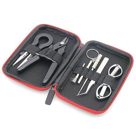 Amazon.com: Juego de herramientas de mano 8 en 1 kit de ...