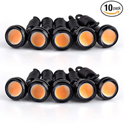 Accessories 10x 9w 12v Car Led 18mm Eagle Eye Daytime Running Drl Tail Light Backup Lamp Atv,rv,boat & Other Vehicle