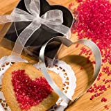 Heart Shaped Cookie Cutters From The <em>Favor Saver Collection</em> - 150 count by Fashioncraft