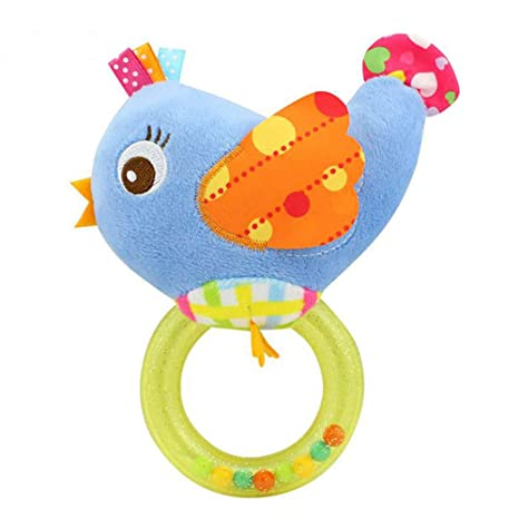 ZYCX123 Infantil del traqueteo de bebé de juguete de felpa juguetes suaves de regalo recién nacido Cuna bebé de juguete de regalo de los juguetes ...