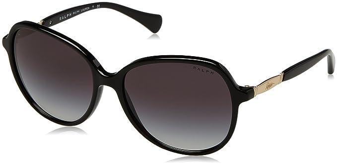 2e43a3e9e36e RALPH Women's 0RA5220 137711 57 Sunglasses, Black/Gradient: Amazon ...