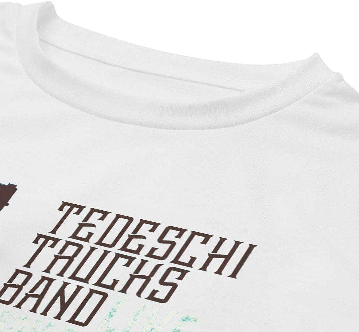 ZhongQiu Tedeschi Trucks Band Live from The Fox Oakland Women Midriff-Baring Navel Crop Tees White