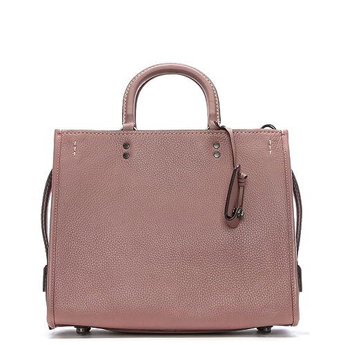 Coach Rogue glovetanned rosa cuero cartera bolsa Pink Leather: Amazon.es: Zapatos y complementos