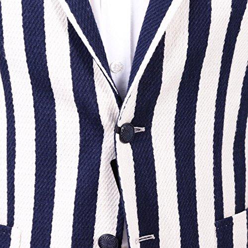 Tagliatore Blazer Uomo 1SMJ22K57YEJ123B1330 Cotone Bianco/Blu