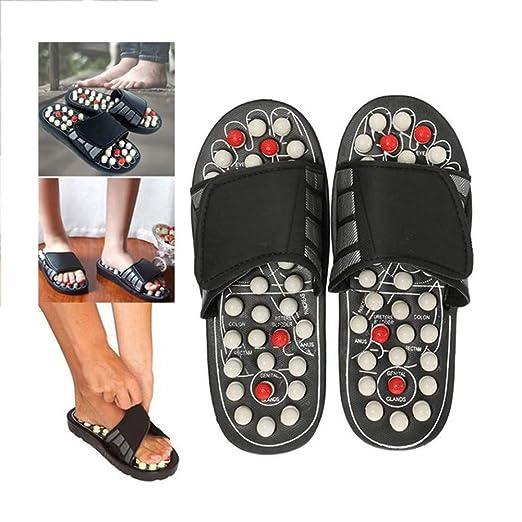 LXFA Zapatillas de Masaje Yoga Shiatsu Sandalias ...