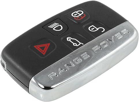 Schlüsselgehäuse Fernbedienung Schwarz 5 Tasten Land Elektronik