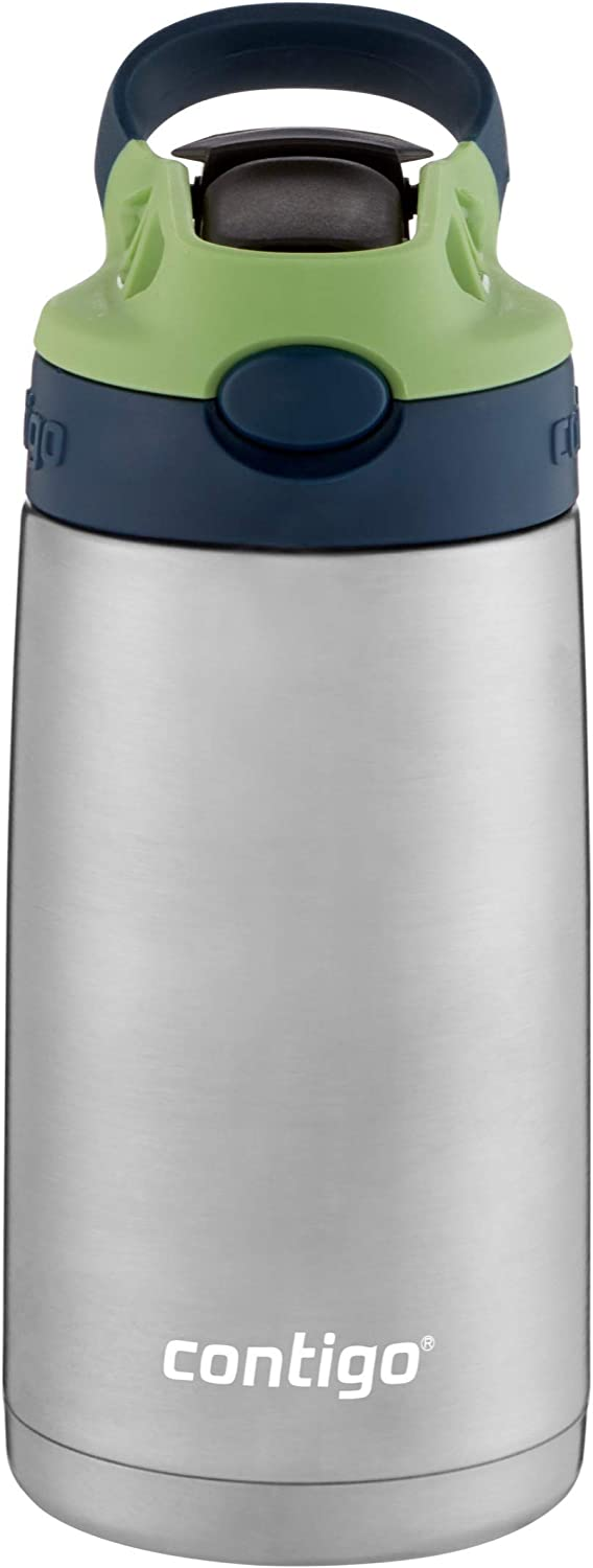 Contigo AUTOSPOUT Water Bottle, 13 oz, Blueberry & Green Apple