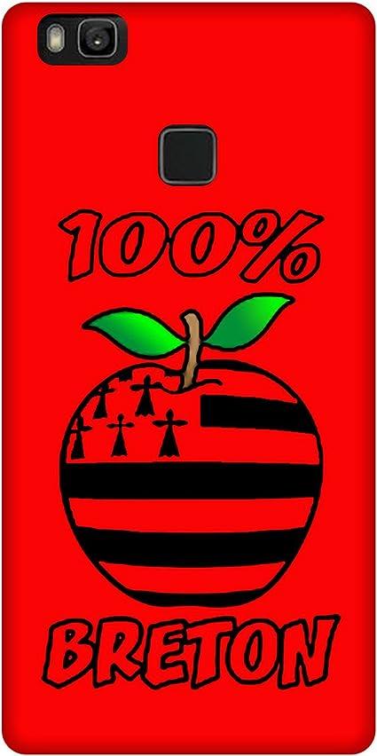 Coque Huawei P10 Lite - 100% Breton Rouge: Amazon.fr: Informatique